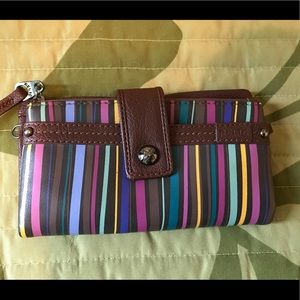 Relic striped wallet